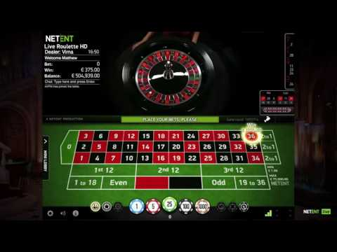 live roulette game